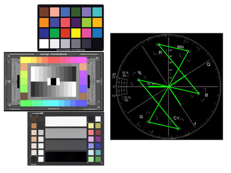 Color Chart Vs Vectorscope