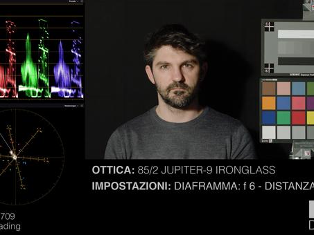 Test resa cromatica delle ottiche