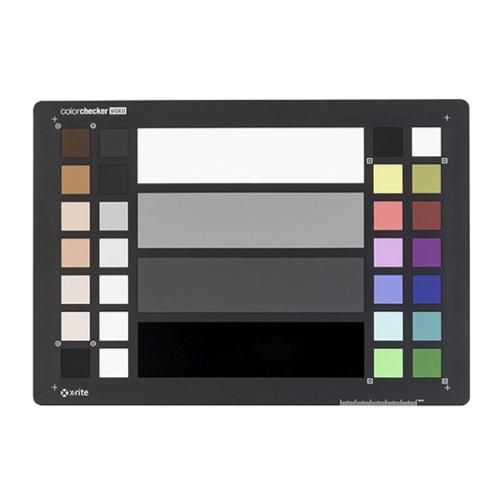 Color Checker Video
