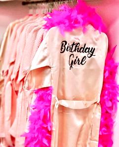 Birthday Girl Robe