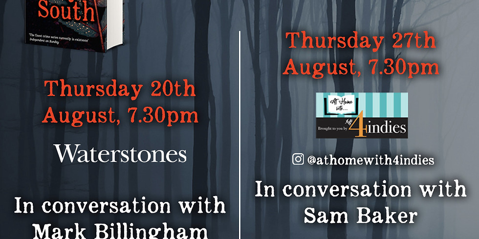 The 4 Indies: John Connolly in conversation with Sam Baker