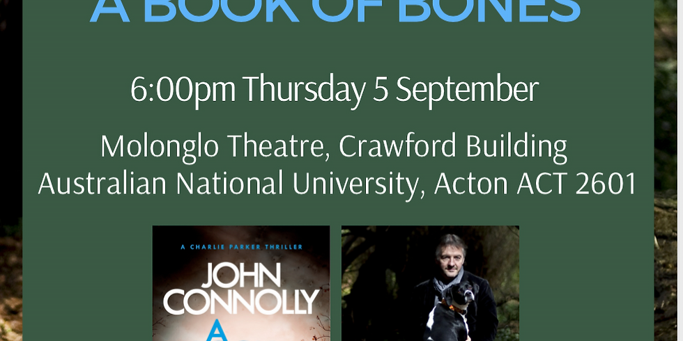 Canberra, Australia —Conoce a John Connolly
