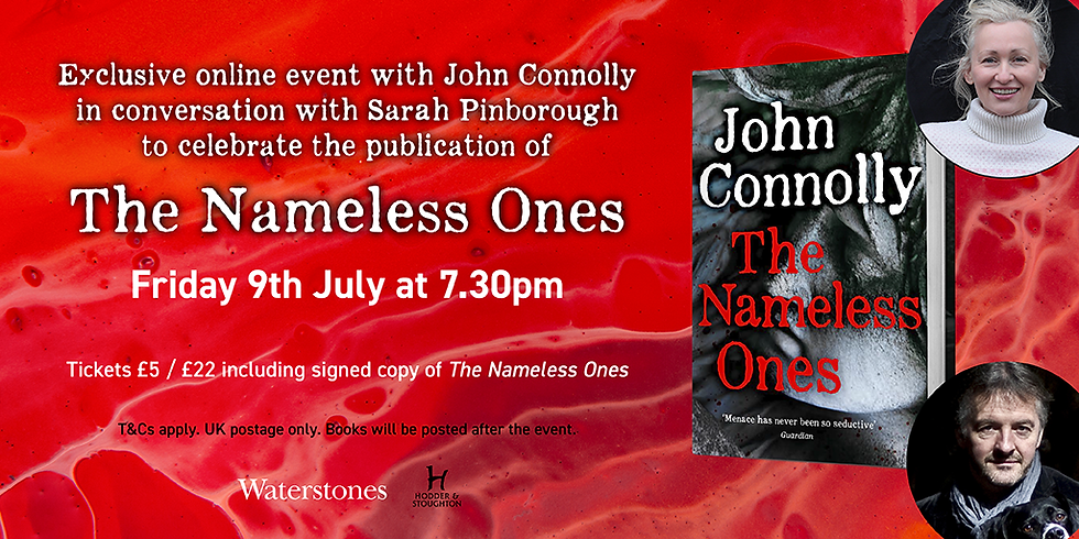 John Connolly in conversation with Sarah Pinborough