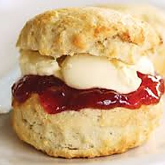 A selection of home baked scones