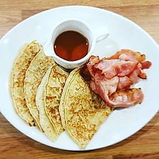 Pancakes & Maple Bacon
