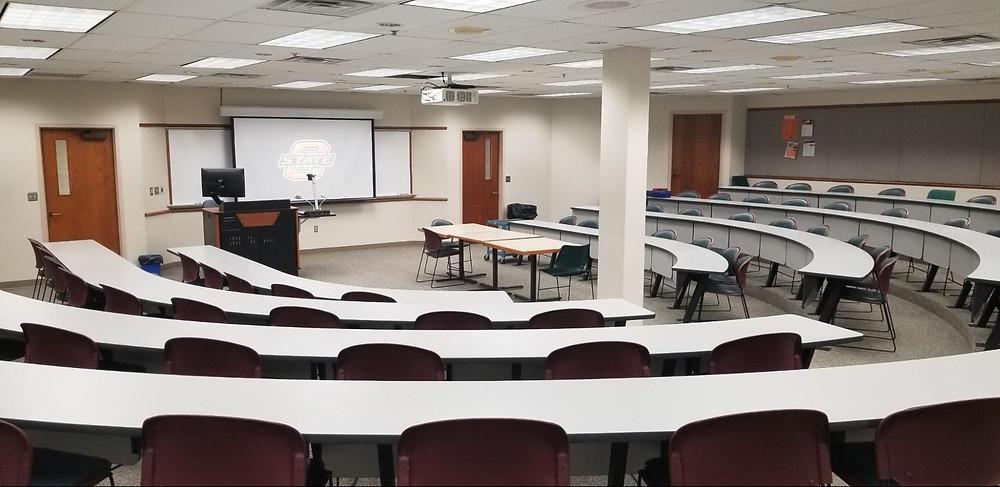 Oklahoma State - Commercial AV Design