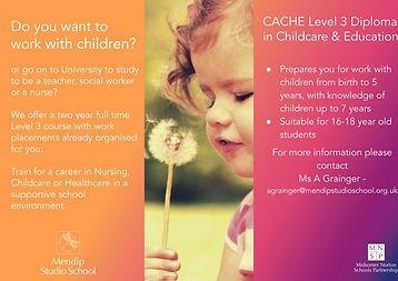 CACHE Level 3 Diploma in Childcare & Edu