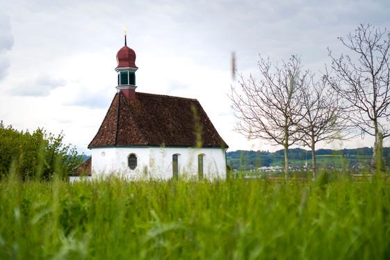 Weinrebenkapelle von aussen