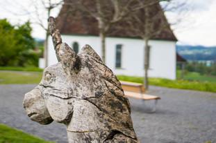 Einhorn - Wappentier von Hünenberg