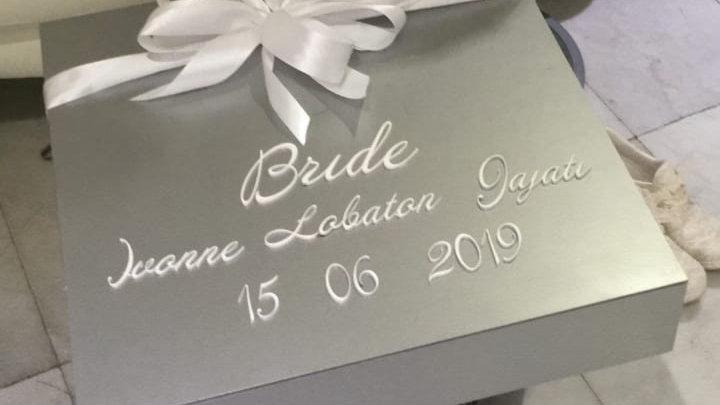Caja para novia