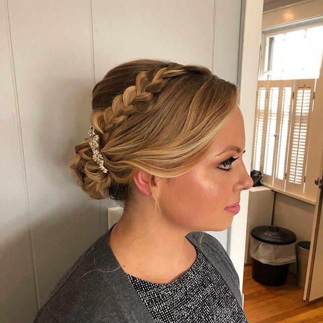 Bridal Trial Hair+Makeup ✨👰Hair by Nicole, Makeup by Jianna _makeupbyjianna 💄💕 #njbride #njmakeup