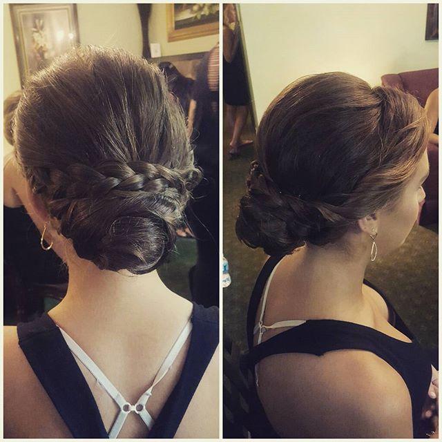 More buns! #bridalhair #bridesmaids #updo #njhair #bombshellhairdressing