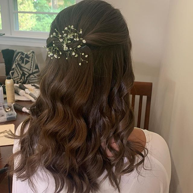 Half up Bridal by Nicole ✨👰🏻✨ _marybet