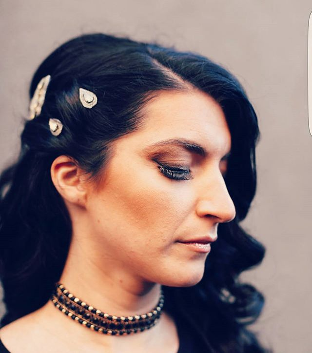 Hair and makeup by me! Photo love by _gloriabloisephoto 📸 model __ms_ribeiro #morristown #hairandma