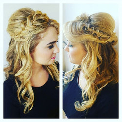 My bridal hair model on the beautiful  _oliviasarrecchia. Makeup by _jianna_sarrecchia ..jpg