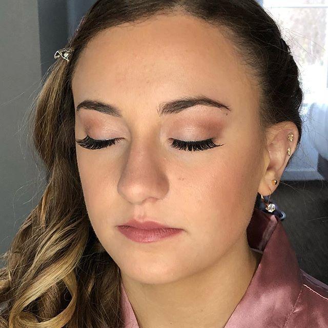 Teen bridesmaid makeup! Gorgeous girl! _elysehalpern 💄💋 #njbride #bridalparty #njmua #makeupartist