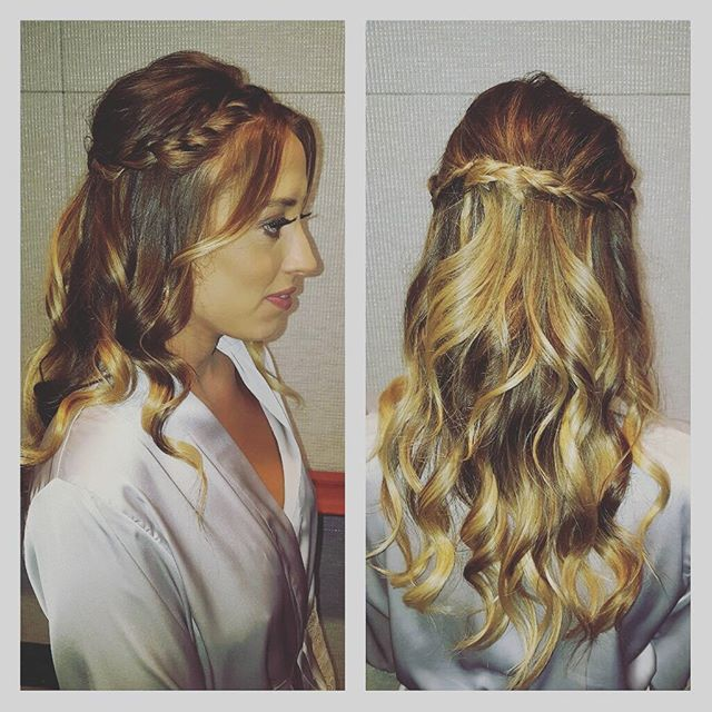 Some of my BM hair today! Working with the lovely _michelleeliseartistry  co! makeup by _michelleeli