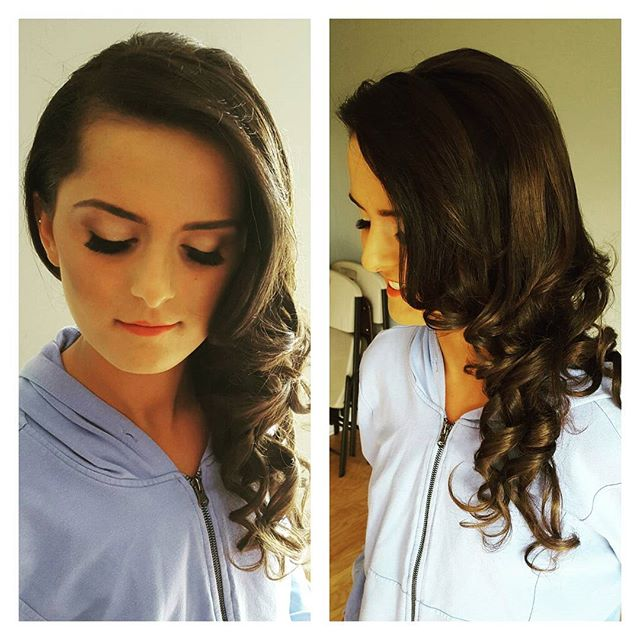 Another beauty! We did soft waves to the side, brushed out a bit.jpg