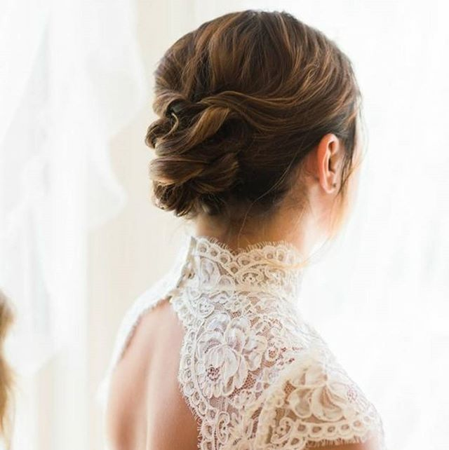 💗👰💎 The Bride_ ________________________Hair by Nicole_Photo _claremullinsphoto__#updo #bridalhair