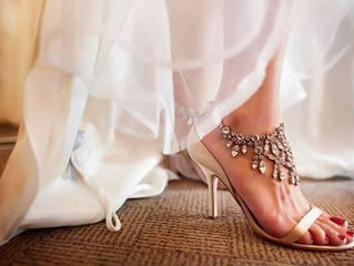 Three Tips For Pretty Wedding Day Feet