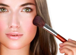 How To Apply Wedding Day Blusher