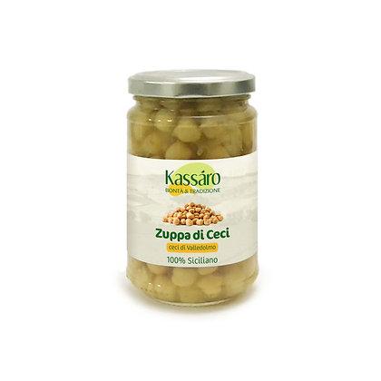 Zuppa pronta di ceci 320g