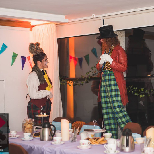 March Hare and Mad Hatter