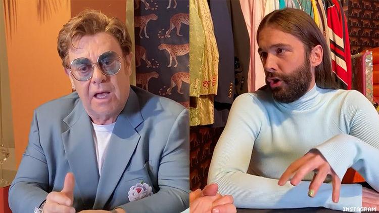 Out.com: Watch Elton John and Jonathan Van Ness Discuss HIV Activism