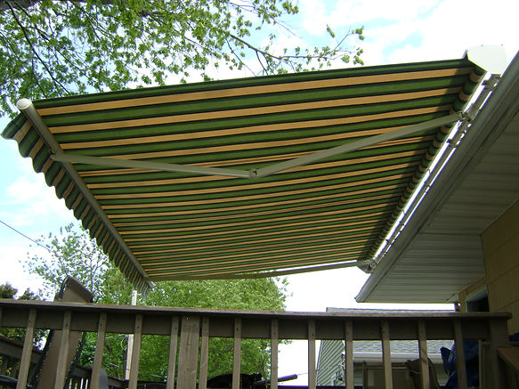 Rollup Awning for Deck or Patio