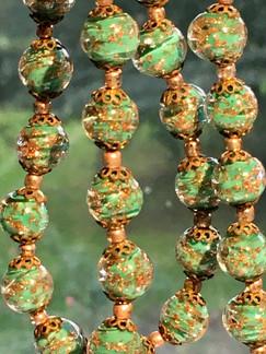 1940's Murano Glass Beads VN125EF40SET