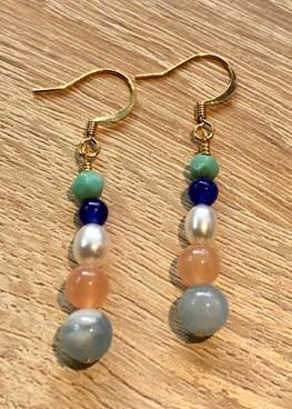 On Summer Water - Earrings