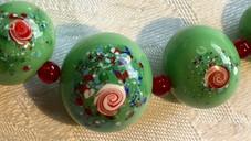 Rose Spatter Beads VN62E25SET