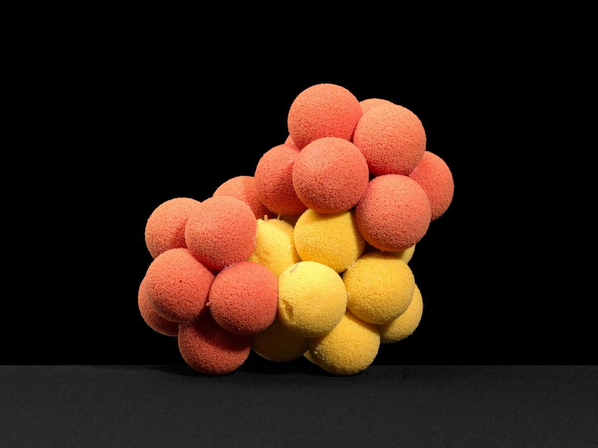 Bent molecule, Styrofoam model, possibly of water