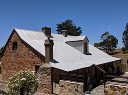 Painted Iron Roof