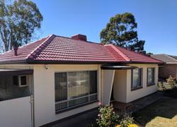 Tiled roof restoration