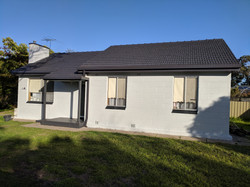After house painted