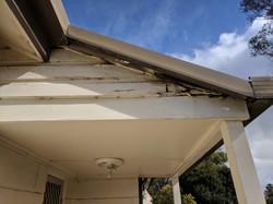 Before weatherboard repairs
