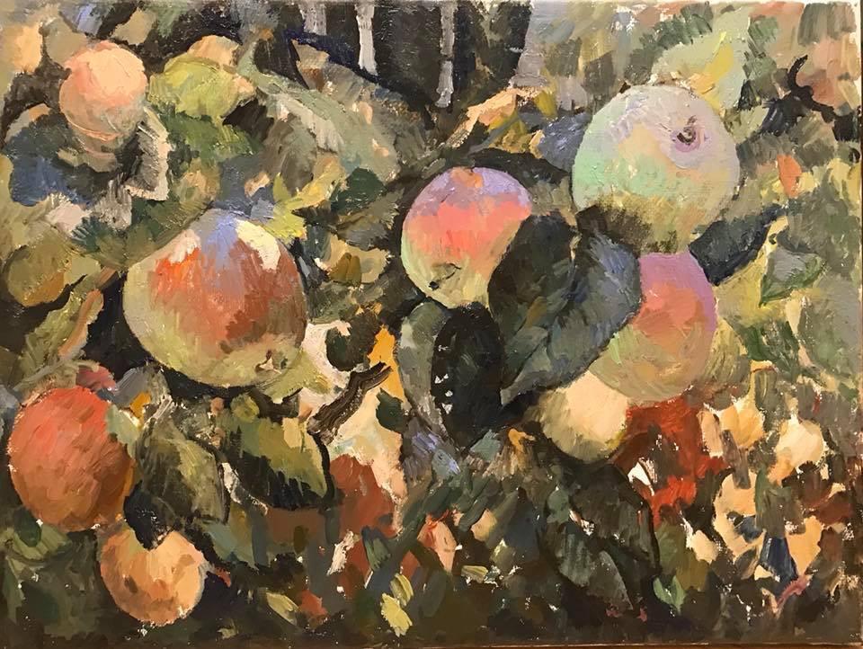Солнечно-яблочный рай