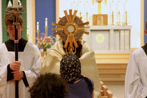 Adoration and Individual Benediction