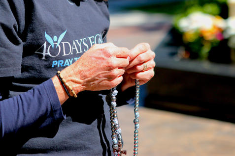 Rosary for an end to abortion