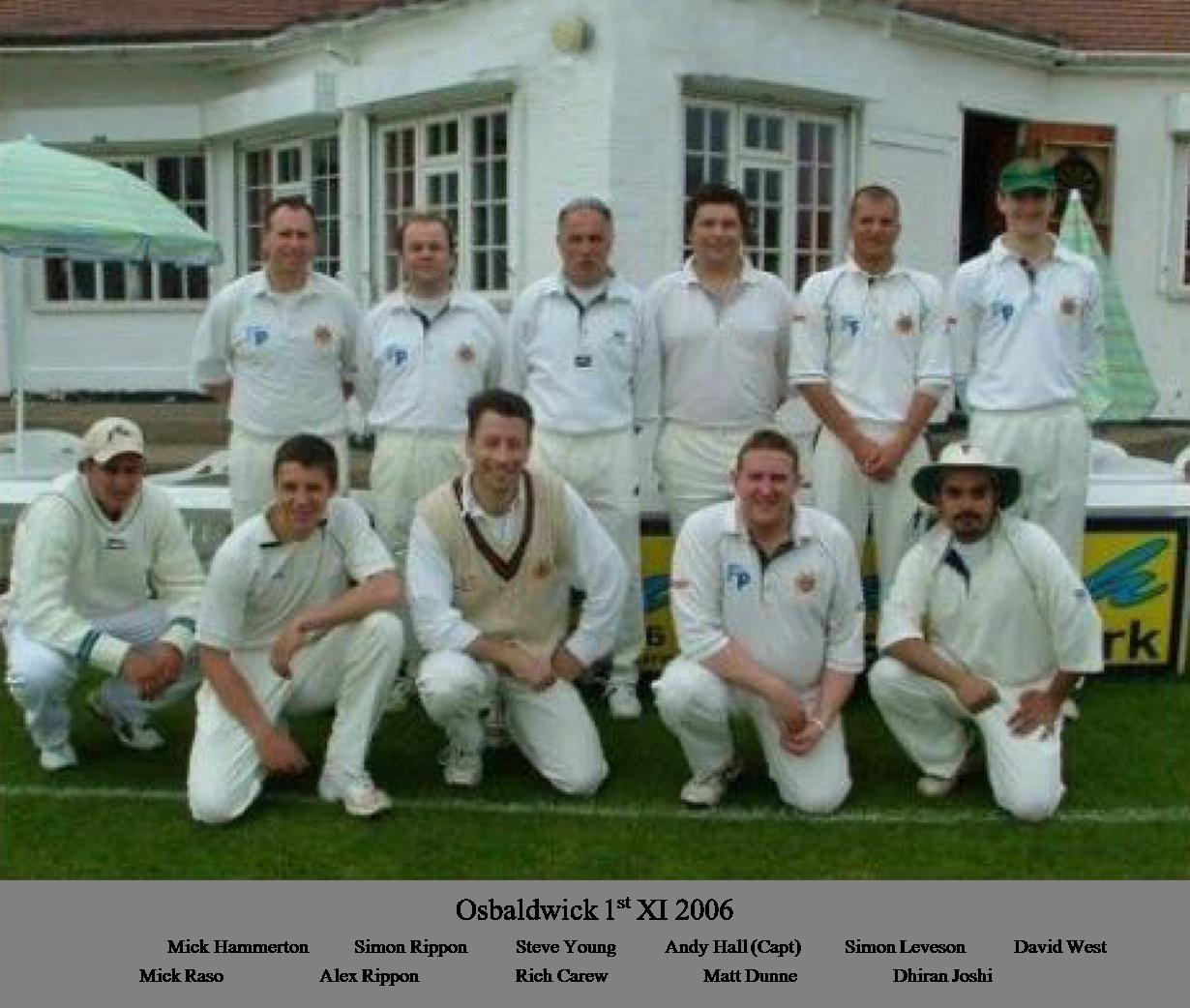 OCC 1st XI 2006
