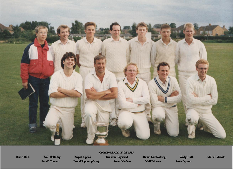 OCC 1st XI 1988