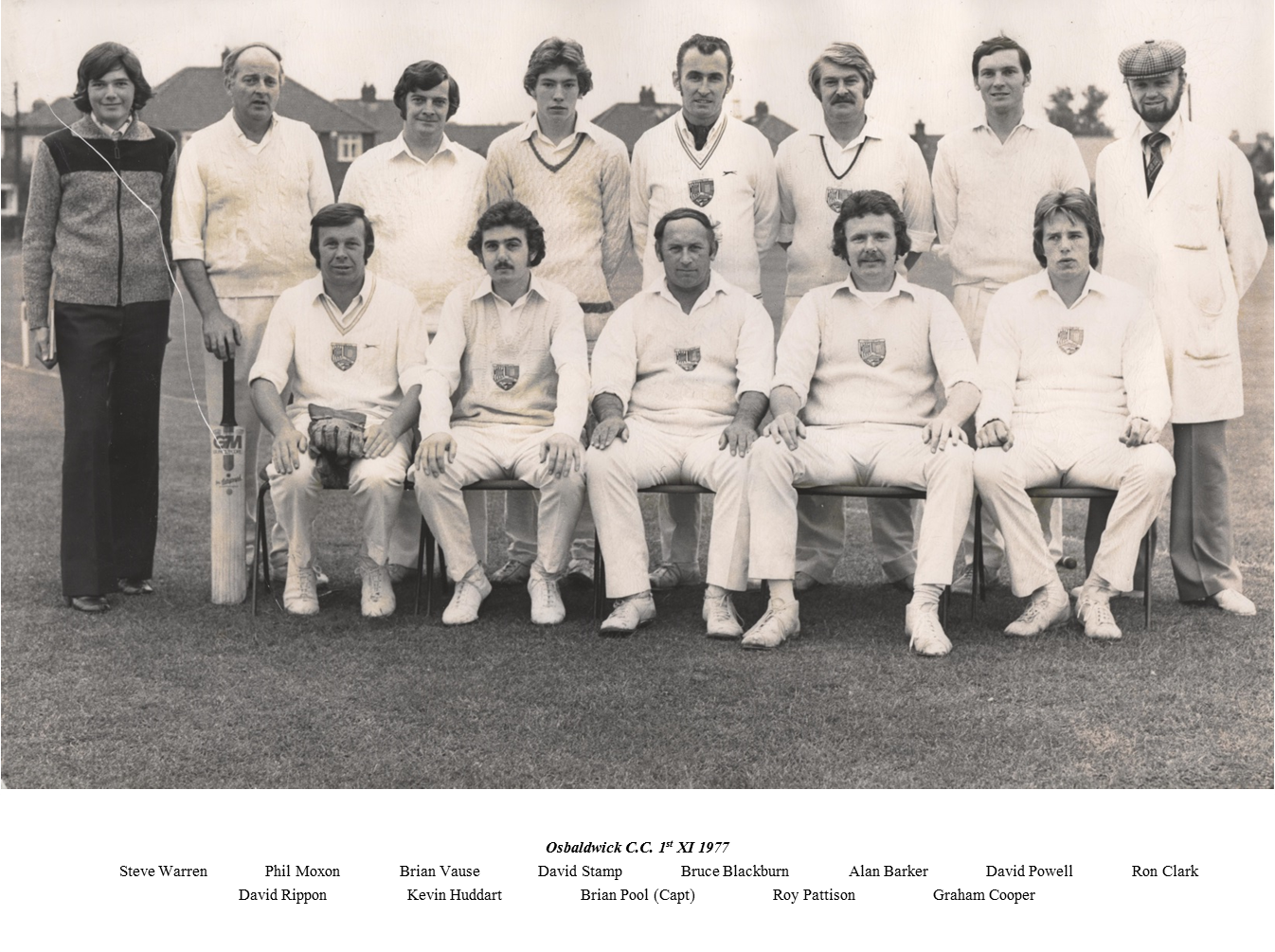 OCC 1st XI 1977