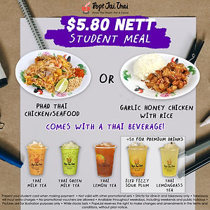 Student Meal