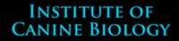 Institue of Canine Biology Logo
