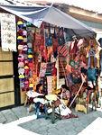 Chichicastenango turg, käsitöö
