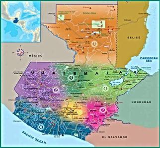 Guatemala 7 turismiregiooni