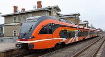 transporte en Estonia, trenes