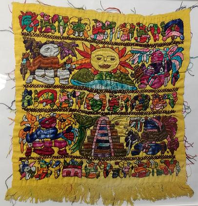 artesanía Maya Chichicastenango