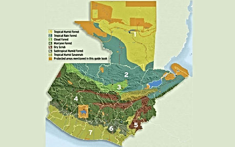 Guatemala kliima ja maastik